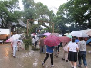 輪ぬけ祭(大祓式)2015