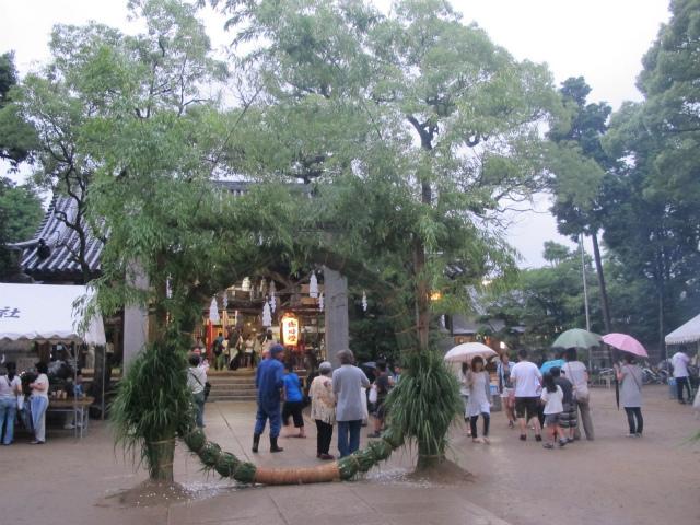 平成24年 輪ぬけ祭(大祓式)(2012年6月30日)