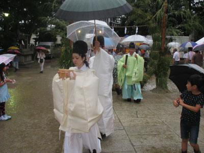 平成27年 輪ぬけ祭(大祓式)(2015年6月30日)